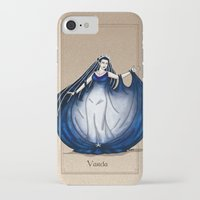 valar morghulis iPhone & iPod Cases featuring Varda by wolfanita