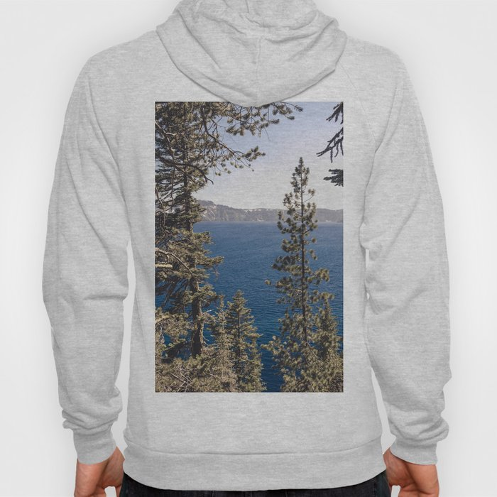 Hidden Lake Love - Nature Photography Hoody