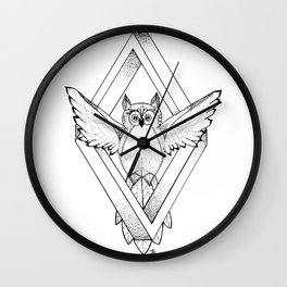 Infinite Owl Wall Clock