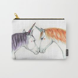 Unicorns in love Carry-All Pouch
