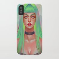 lime iPhone & iPod Cases featuring Lime by serafleur