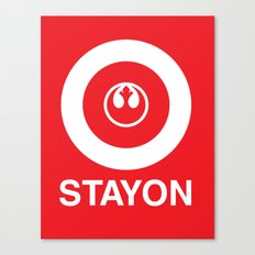Stay On Target... Canvas Print