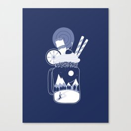 Whipped Cream Day Canvas Print