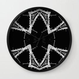 Mtn X-Ray Quad 1 Wall Clock