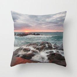 Scenery of Sicily Throw Pillow