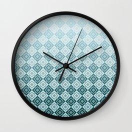 Geometric , gradient 2 Wall Clock