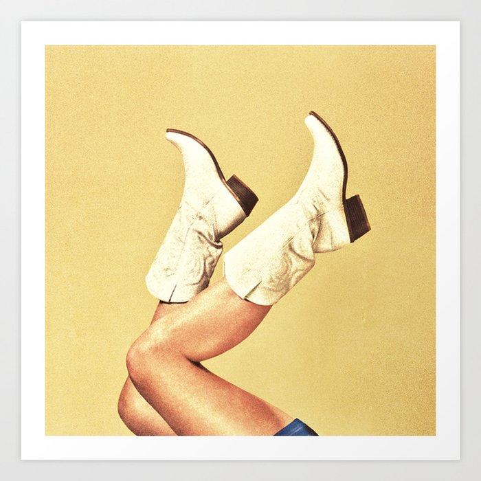 These Boots Kunstdrucke