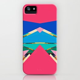 Colorful pieces iPhone Case