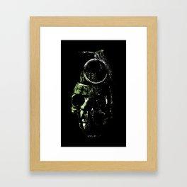 Death Blow Framed Art Print