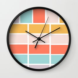 Color burst Wall Clock