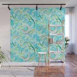 Mermaid Pattern 03 Wall Mural