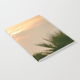 cloudy sky in the oasis Notebook