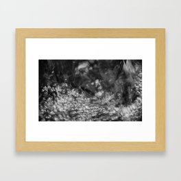 Liquid Silver Framed Art Print