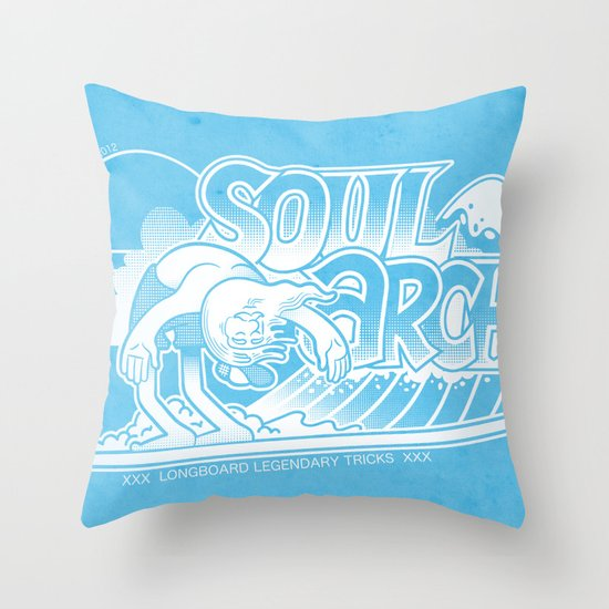 Soul arch Throw Pillow