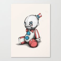 Plush Spaulding Canvas Print