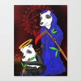 The Last Panda Canvas Print