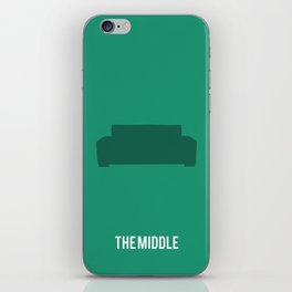The Middle - Minimalist iPhone Skin