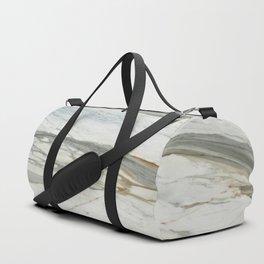 Classic Italian Marble Duffle Bag