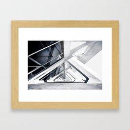 Infinite view Framed Art Print