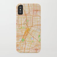 houston iPhone & iPod Cases featuring Houston, Texas by Emily Day