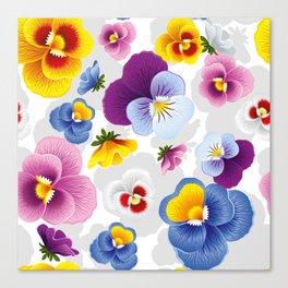 Bloom Floral Canvas Print