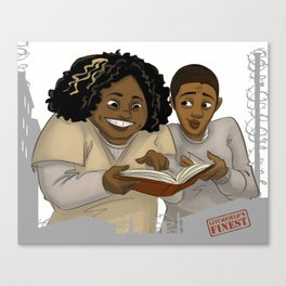 Taystee and Poussey OITNB Canvas Print