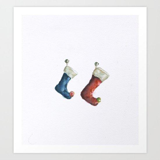 Stockings  Art Print