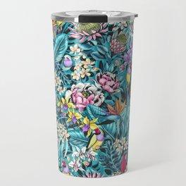 Stand out! (fresh aqua) Travel Mug