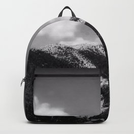 Big Sky Country - Black And White Backpack