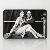 wes anderson iPad Cases featuring WES & ANJELICA by VAGABOND
