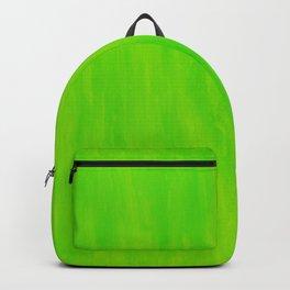 Neon Green Watercolor Backpack