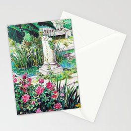 Ghibli background art from Porco Rosso Stationery Cards