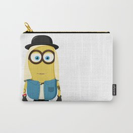 Hipster Girl Minion Carry-All Pouch