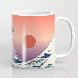 The Great Wave of Sloth Coffee Mug