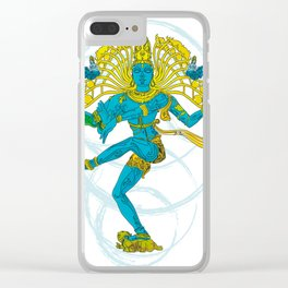 01 - SHIVA Clear iPhone Case