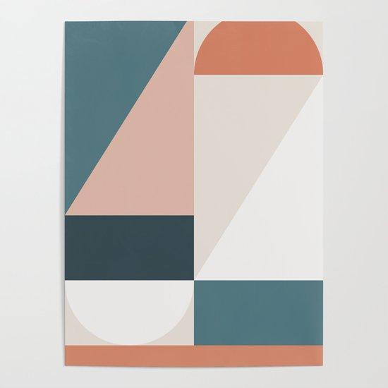 Cirque 01 Abstract Geometric by theoldartstudio