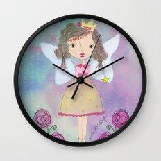Princess Fairy Wall Clock