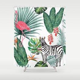 Nature Zebre pattern Shower Curtain