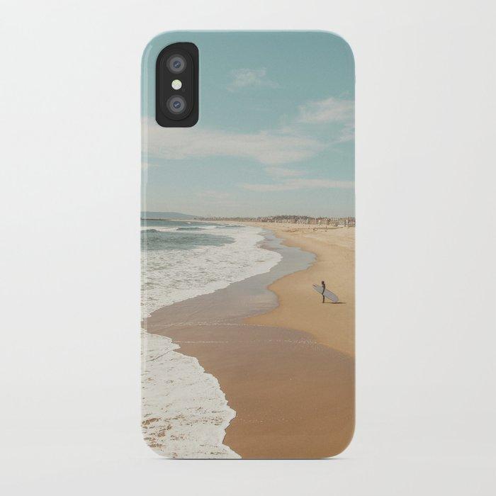 California Beach iPhone Case by scissorhaus