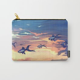 Sky Fishes Carry-All Pouch