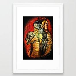 Repent  Framed Art Print