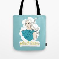 danny ivan Tote Bags featuring Danny by JessicaJaneIllustration