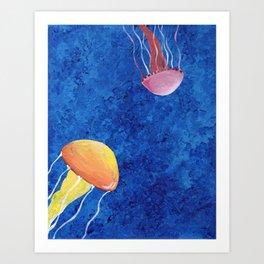 More Jellies Art Print