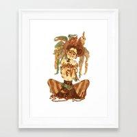 pirate Framed Art Prints featuring Pirate by Fabio Mancini