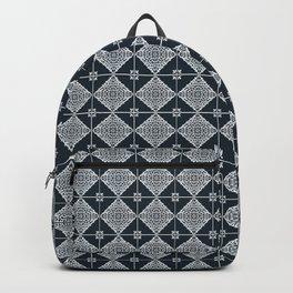 SPAIN TILE PATTERN DESIGN Backpack
