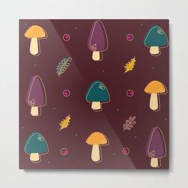 Le mushroom Metal Print