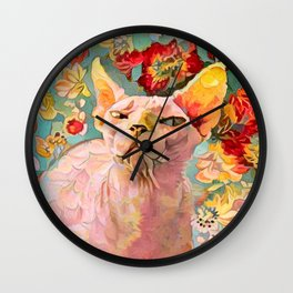 Who Said You Could Leave Me Alone Wall Clock