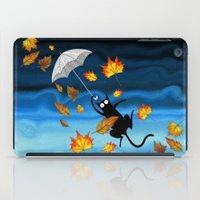 umbrella iPad Cases featuring Umbrella  by Andrew Hitchen