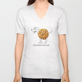 Dog Treats - Chocolate Chip Lab Unisex V-Neck