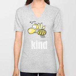 Bee Kind Beekeeper Unisex V-Neck
